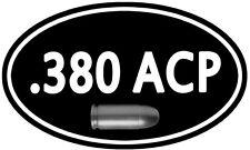 """.380 Cal Ammo Box Decal 5""""x 3"""" ** 2 PACK **  Can 380 ACP Colt Gun Sticker DC928"""