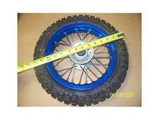 Marshin Wheel Tire 2.50-10 & Rim ZX1.60x10 Front Blue