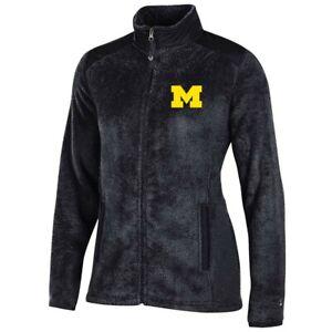 Michigan Wolverines NCAA Full Zip Women's Team Logo Flurry Jacket by Champion