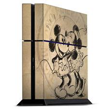 Sony Playstation 4 PS4 Folie Aufkleber Skin - Minnie&Mickey