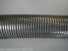 "Stainless Steel Exhaust Flex Tube 3.5"" I/D (88.9mm) 600mm Section"