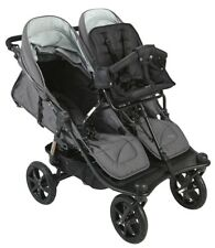 Valco 2019 TriMode Twin-X Duo Double Stroller in Dove Grey With Toddler Seat!!!