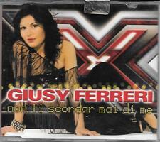 """GIUSY FERRERI - RARO CDs """" NON TI SCORDAR MAI DI ME """""""