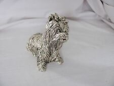 R. Argento Made in Italy silver 925% dog figurine 224.5g