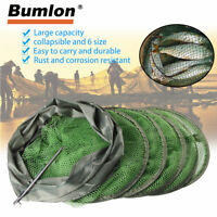 Fishing Keeping Net Fish Cast Dip Cage Crab Crawdad Shrimp Foldable Bait Trap
