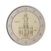 "Germany 2 Euro commemorative coin 2015 ""Paul Church - Hessen"" - UNC"