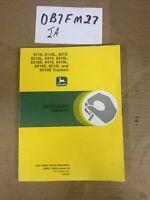 John Deere 6110 6210 6310 6410 6510 L S Owner Operator Manual OMAL116324 NOS