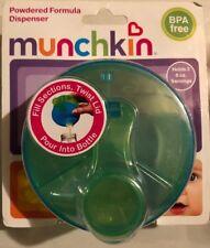 Munchkin Formula Dispenser 3 Separate Compartments Bpa Free Green - Nib - Sealed