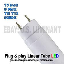 15 Inch Daylight 5000K T8 Led Relamp Fluorescent Bulbs F14T12 & F14T8