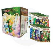 The Legend of Zelda Box Set 1-10 Manga Akira Himekawa- Manga Series Paper back