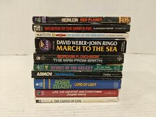 Red Planet by Robert Heinlein and 9 other sci fi books. No duplicates Free Ship!