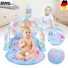 Baby Krabbeldecke Spielbogen Erlebnisdecke Gymnastik Musikmatte Fr 0-18 Monate