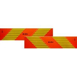 ECE 70.01 Pannelli rifrangenti per motrice kit da 2 pezzi in PVC o alluminio