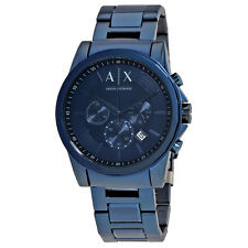 Armani Exchange Outerbanks Chronograph Blue Dial Mens Watch AX2512