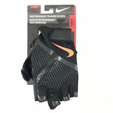 NEW Nike Renegade Training Gloves Black/Anthracite/Total Crimson Men's Large