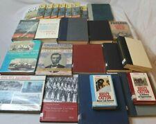 Huge Lot 24 Vintage American Civil War Books Encyclopedia Set Military History