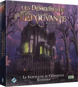 """Les Demeures de l'Épouvante (2è éd) - Extension """"Les sanctuaires du crépuscule"""""""