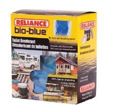 2 Box 24pk Reliance Bio Blue Chemical Toilet Deodorant