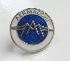 AERMACCHI BADGE BIKER ENAMEL LAPEL PIN BADGE