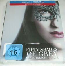 Fifty Shades of Grey 2 - Blu-ray/NEU/Erotik/Dakota Johnson/JamieDornan/Steelbook