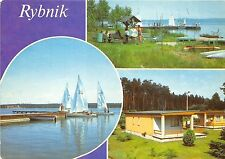 B45606 Rybnik boats bateaux multiviews   poland
