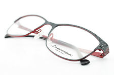 Conquistador by Marwitz Glasses Red Grey M87 62 Elegant Eyeglasses Woman New Ce