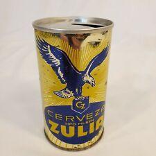 Zulia Tipo Pilsen Straight Steel Beer Can from Venezuela (33cl)