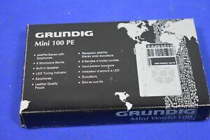 Grundig Mini World 100 PE AM/FM Stereo Short Wave 1-6 Band Radio