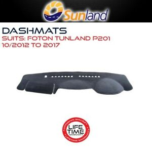 Sunland Dashmat Fits Foton Tunland P201 10/2012-2017 For All Dual Cab Models