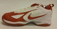 Nike Air Astro Grabber Destroyer Men's Sz 15 Football Cleats White/Orange NIB