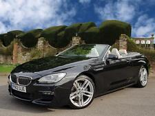 "BMW 640d M Sport 2dr Convertible Auto, 20"" ALLOYS + IVORY LEATHER"