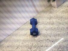 Keys Fitness 9 Pound Neoprene Dumb Bell Blue