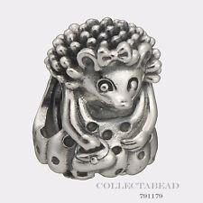 Authentic Pandora Sterling Silver Miss Hedgehog Bead 791179