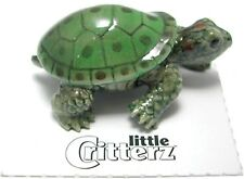 LC336  little Critterz Miniature - Garden Turtle (Buy any 5 get 6th free!)