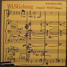 """WANG CHUNG """"WAIT"""" - 12"""" MAXI SINGLE"""