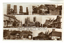 Kent Beauty Spots - Multiview Real Photo Postcard 1937