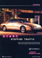 1998 Oldsmobile Aurora Original Advertisement Print Art Car Ad J980