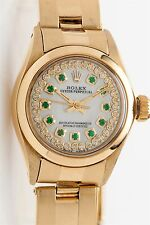 $20,000 14k Yellow Gold NO DATE Oyster President Ladies Rolex Watch BOX & WTY