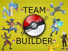 ANY 6 Shiny Pokemon ★Custom★ 6IV Ev Perfect Team Breed Ultra Sun Moon Sole Luna