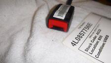 Lamborghini Aventador Seat Chair Belt Strap Buckle Latch with warning 4L0857756E