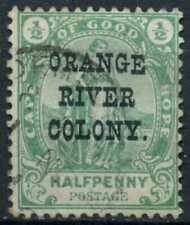 Orange River Colony 1900 SG#133, 1/2d Green Used #E11357