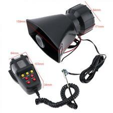Car Vehicle 100 Watt Police Air Horn PA 7 Sound Tone Siren Super Loud PA System
