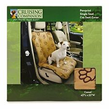 Cruising Companion Dog Seat Cover Single Cushioned Car Seat Cover for Dogs