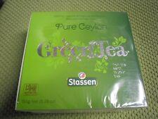 New ! 100 Tea Bags Stassen Pure Ceylon Green Tea