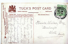 Genealogy Postcard - Family History - Walker - Wells - Somerset  A1152