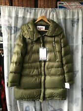 invicta xl size 14 down feather coat khaki new with tags
