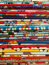 10 Fat Quarters Bundle CHILDRENS BOYS STOCK CLEARANCE Fabric Offcuts Remnants