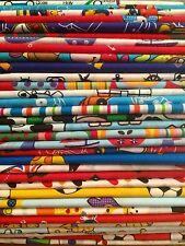 10 Fat Quarters Bundle CHILDRENS BOYS Polycotton Fabric Offcuts Scraps Remnants