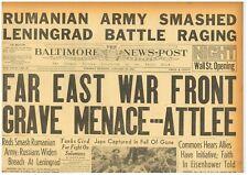 Russian Army Lift Siege of Leningrad Romanian Army Smashed January 19 1943 B10