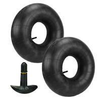 Pair of 15x6.00-6 Lawn Mower Tire Inner Tubes 15X6-6, 15X6x6, 15/6x6 TR13 Valve